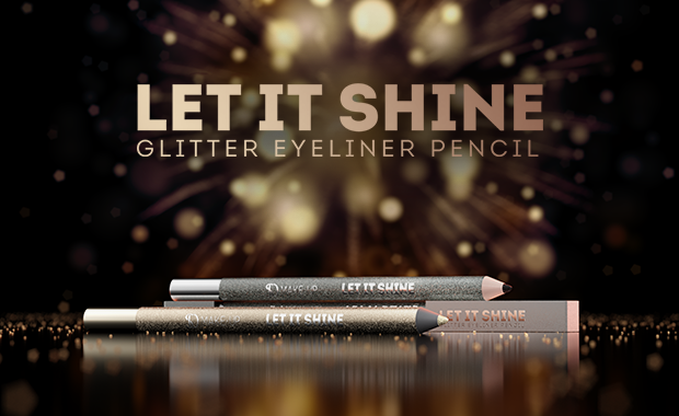 MB Olhos Let It Shine Glitter Eyeliner Pencil